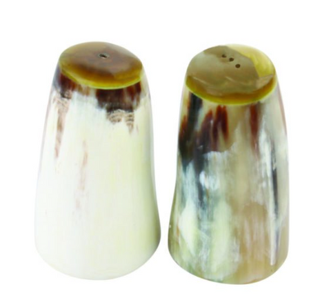 Horn Salt and Pepper