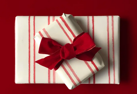 Red Stripe Wrapping Paper