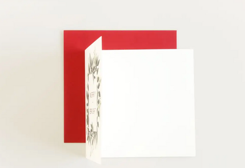 'Merry + Bright' Card