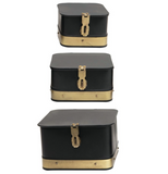 Black and Brass Box