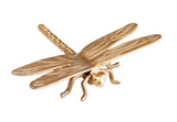 Large Gold Dragonfly