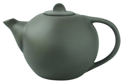 Slate Stoneware Tea Pot