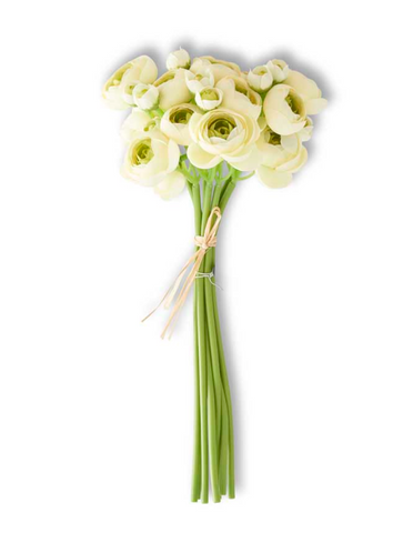 Cream Mini Ranunculus Bundle