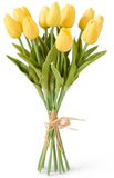 Yellow Real-Touch Tulips