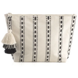 Black and White Cosmetic Pouch
