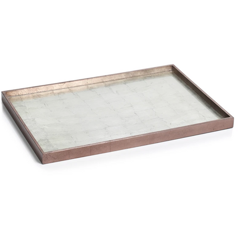 Antique Rose Gold Tray