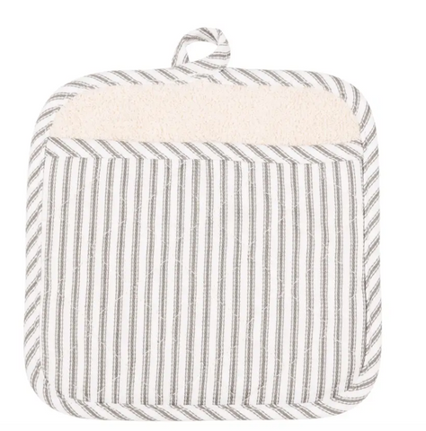 Striped Pot Mitt