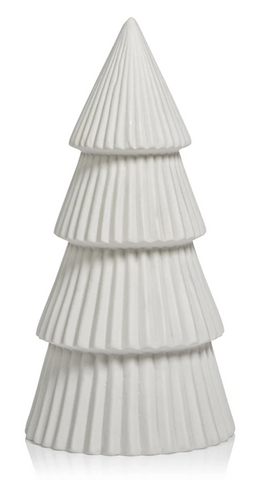 White Tiered Tree