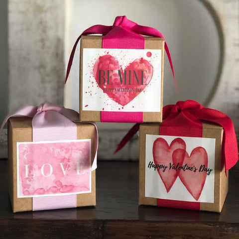 Valentines Day Toffee Box