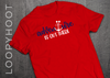 Adventure Is Out There Mouse Anchor Cruise Shirt in Red