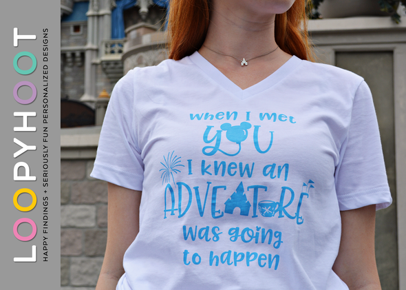 Adventure Icons Shirt in White