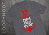 Best Day Ever Mouse Anchor Cruise Shirt in Gray