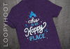 Happy Place Castle Shirt in PURPLE TRIBLEND