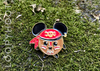 Kakamora Coconut Pirate Enamel Pin