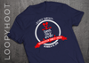 Personalized Roping Cruise Shirt in Navy