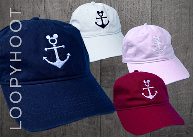 Mouse Anchor Cruise Hat