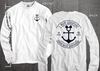 Great Wide Somewhere Mouse Anchor Cruise Shirt in White