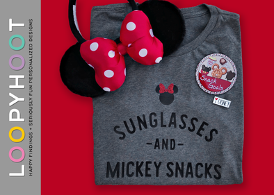 Sunglasses and Snacks Shirt in Gray