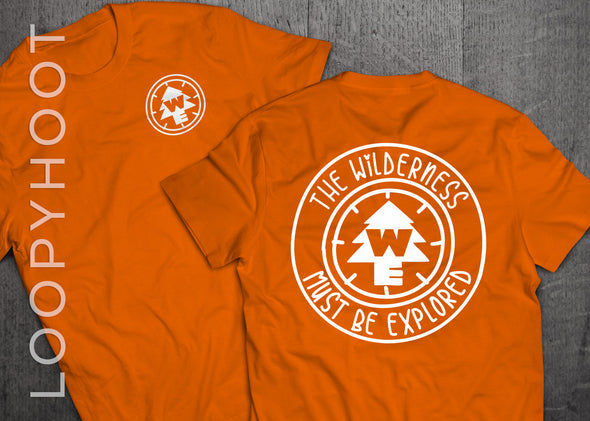 Wilderness Explorer Shirt in Orange