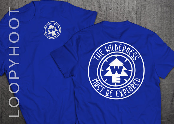 Wilderness Explorer Shirt in Royal Blue