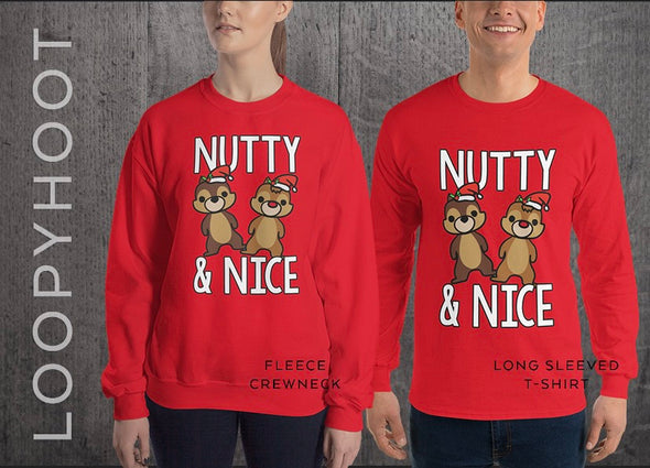 Christmas Nutty & Nice in RED