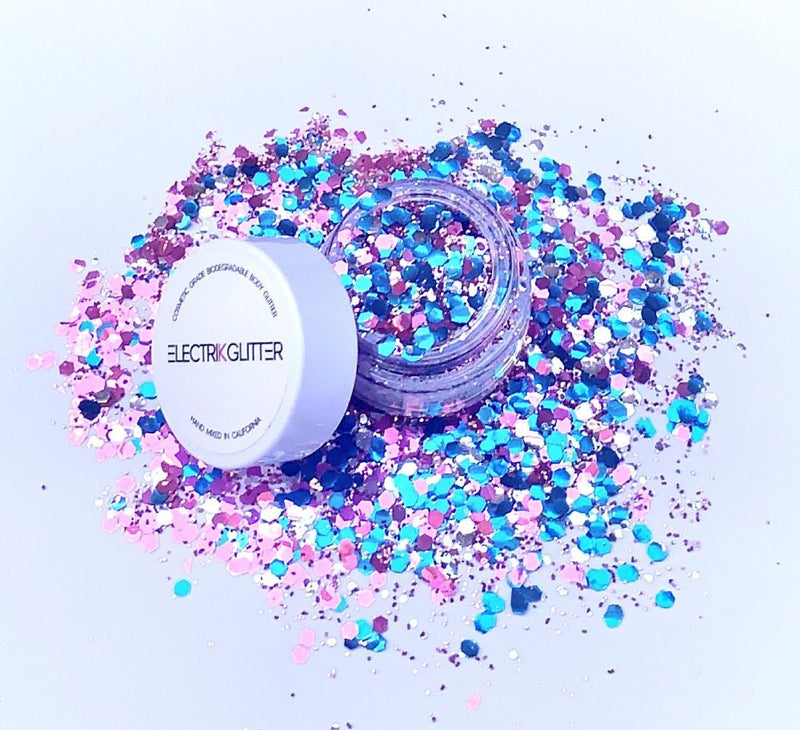 Cotton Candy Mix Glitter - Electrik Glitter