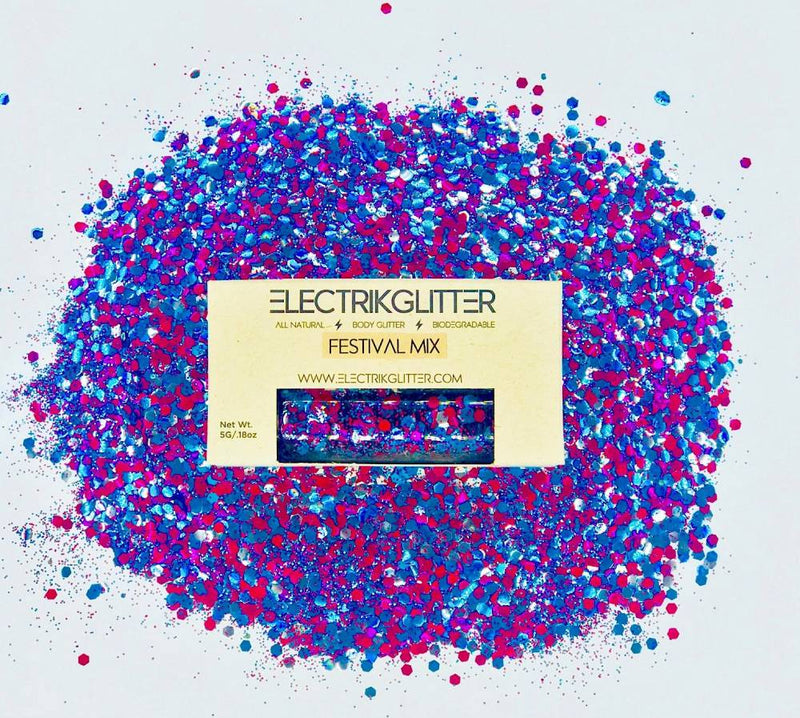 Mixed Berry Body And Face Glitter - Electrik Glitter