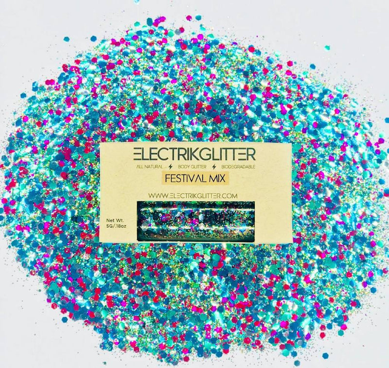 Pool Party Mix Glitter - Electrik Glitter