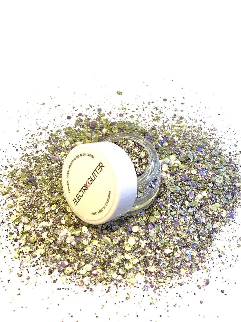 Purple & Gold - The Mamba & Mambacita Sports Foundation - Electrik Glitter
