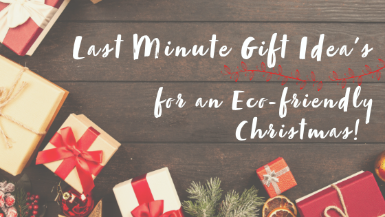 Last Minute Eco-friendly & Natural Christmas Gift Idea's.