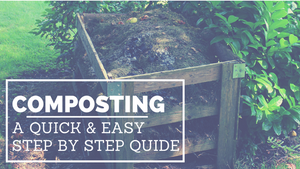 A quick step by step guide to composting!