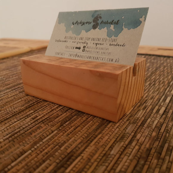 Recycled Oregon Business Card Holder - Wholesome Habitat