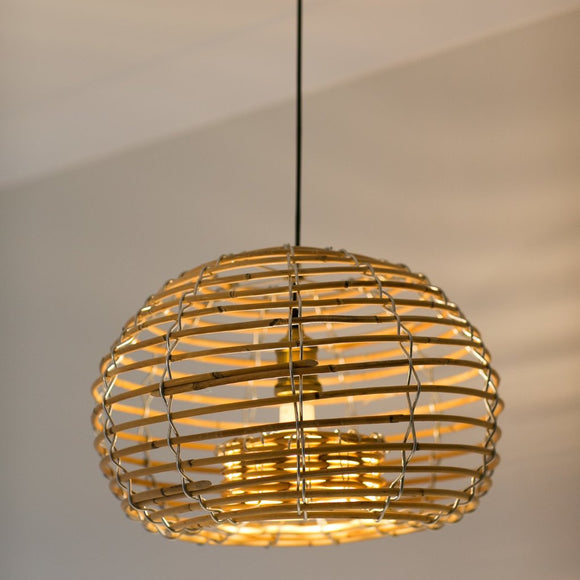 Lobster Pendant Light With Brass Light Fitting - Wholesome Habitat