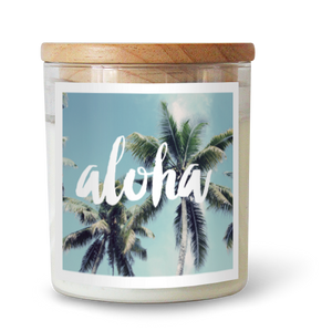 Aloha - Natural Pure Soy Wax Candle - Wholesome Habitat