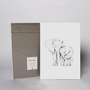 Animal Print - Elephants - Wholesome Habitat