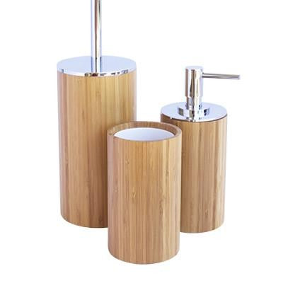Bamboo Bathroom Set - Wholesome Habitat