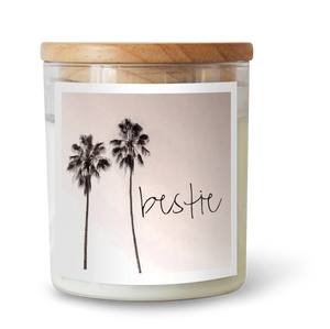 Besties - Natural Pure Soy Wax Candle - Wholesome Habitat