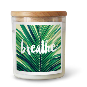 Breathe - Natural Pure Soy Wax Candle - Wholesome Habitat