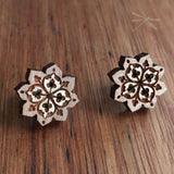 Boho Star Mandala Studs - Wholesome Habitat