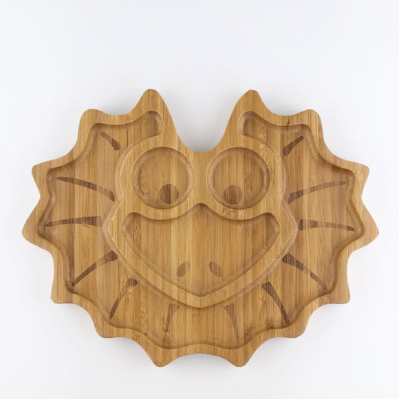 Children's Bamboo Lizard Plate - Wholesome Habitat