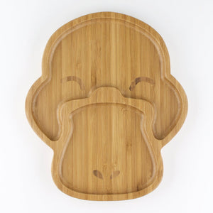 Children's Bamboo Platypus Plate - Wholesome Habitat