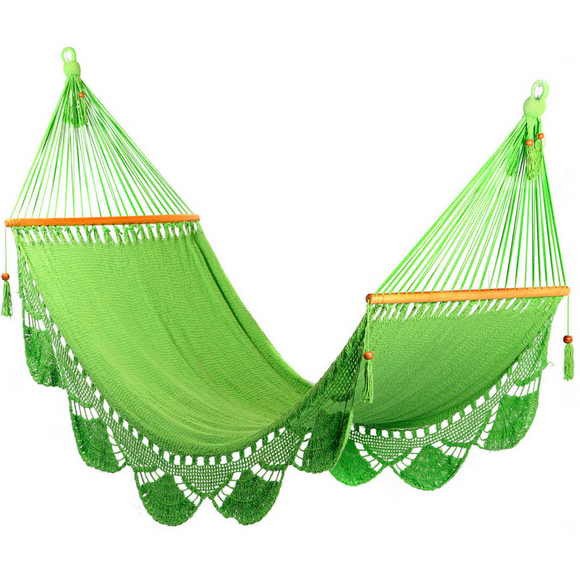 Crochet Hammock in Pistachio - Wholesome Habitat