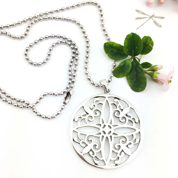 Everlasting Love Stirling Silver Pendant - Wholesome Habitat