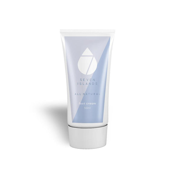 Seven Islands Skincare Foot Cream 50ml - Wholesome Habitat