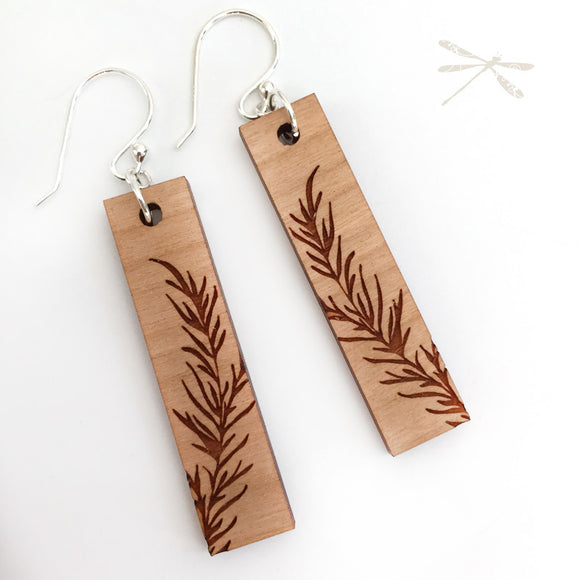 Fern Earrings - Wholesome Habitat