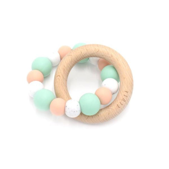 Five-O Teething Toy - 10 colours - Wholesome Habitat