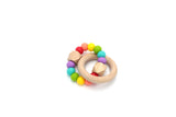 Hexx Teething Toy - 12 colours - Wholesome Habitat