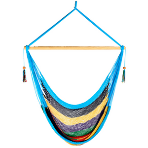 Large Hammock Chair in Multi-Colour - Wholesome Habitat