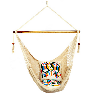 Large Hammock Chair in Natural - Wholesome Habitat