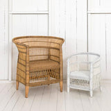 Malawi Cane Traditional Children's Chair - 1 Seater - Wholesome Habitat